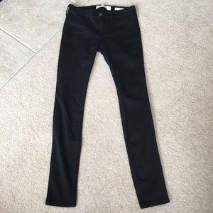 Hollister Low Rise Jean Legging Black -1R (25x28)